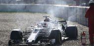 Incidente de Leclerc durante los test invernales - SoyMotor.com