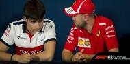 Charles Leclerc y Sebastian Vettel en Mónaco - SoyMotor.com