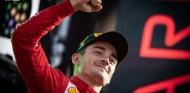 Charles Leclerc celebra su victoria en el GP de Italia F1 2019 - SoyMotor.com