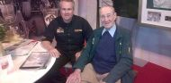 Len Terry (derecha) junto a Clive Chapman (izquierda) - LaF1