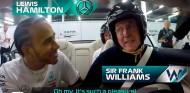 Lewis Hamilton y Frank Williams en Silverstone - SoyMotor