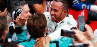 Lewis Hamilton, de celebración en Hockenheim - SoyMotor.com