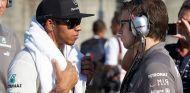 Lewis Hamilton en el pasado Gran Premio de Japón - LaF1