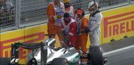 Hamilton fue impaciente en Bakú - LaF1
