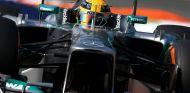 Lewis Hamilton durante el Gran Premio de Italia - LaF1