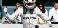 Lewis Hamilton en una imagen de Alemania - LaF1
