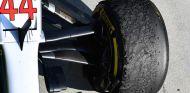 Neumáticos de Lewis Hamilton en Hungaroring - SoyMotor.com