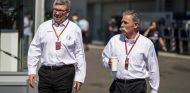 Ross Brawn y Chase Carey, rostros visibles de LIberty Media - SoyMotor
