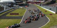 Salida del Gran Premio de Japón - SoyMotor.com