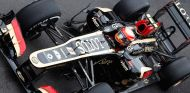 Romain Grosjean y su Lotus E21