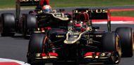 Kimi Räikkonen y Romain Grosjean