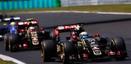 Romain Grosjean y Pastor Maldonado en Hungría - laF1