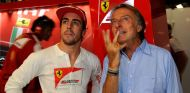 Luca di Montezemolo junto a Fernando Alonso - LaF1