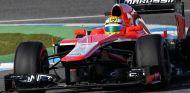 Luiz Razia en el Marussia MR02 en Jerez - LaF1