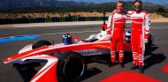 Nick Heidfeld junto a Felix Rosenqvist - SoyMotor.com