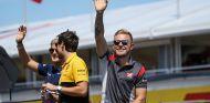 Magnussen en el Drivers' Parade de Hungría - SoyMotor
