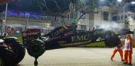Pastor Maldonado montará un nuevo chasis del E22 en Singapur - LaF1.es