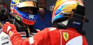 Pastor Maldonado y Fernando Alonso en el GP de España F1 2012 - SoyMotor
