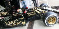 Pastor Maldonado con el Lotus E23 en Jerez - LaF1