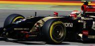 Pastor Maldonado en su E22 - LaF1