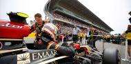 Pastor Maldonado en la parrilla de salida del Gran Premio de España - LaF1