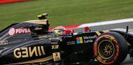 Pastor Maldonado durante la clasificación del Gran Premio de Gran Bretaña - LaF1