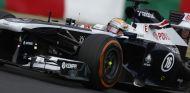 Pastor Maldonado con el Williams FW35 - LaF1