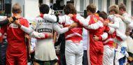 Minuto de silencio por Jules Bianchi - LaF1
