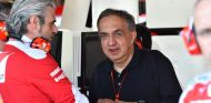 Marchionne junto a Arrivabene - SoyMotor