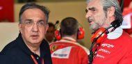 Sergio Marchionne y Maurizio Arrivabene en Bakú - SoyMotor.com