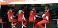 Maurizio Arrivabene en el Pit-Wall de Silverstone - LaF1