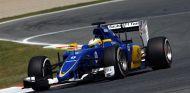 Marcus Ericsson hoy en Montmeló - LaF1