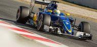 Marcus Ericsson durante la pretemporada - LaF1