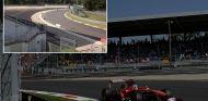 Fernando Alonso en el GP de Italia de 2013, en la ahora asfaltada Parabólica - LaF1