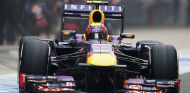 Mark Webber sale de boxes - LaF1