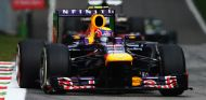 Mark Webber con el Red Bull RB9 en el GP de Italia - LaF1