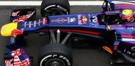 Mark Webber con el Red Bull RB9