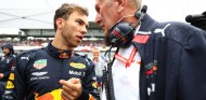 Helmut Marko y Pierre Gasly en el GP de Alemania F1 2019 - SoyMotor