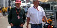 Helmut Marko junto a Niki Lauda - SoyMotor