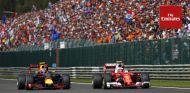 Verstappen y Räikkönen en Bélgica - SoyMotor