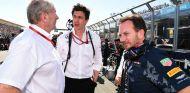 Marko, Wolff y Horner durante el primera Gran Premio de 2016 - SoyMotor
