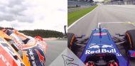 Súbete con Marc Márquez en Austria: F1 vs. MotoGP