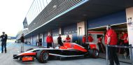 Max Chilton en los test de Jerez con el MR03 - LaF1