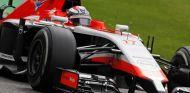 Jules Bianchi a los mandos del Marussia de 2014 - LaF1