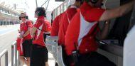 Pit Wall del equipo Marussia en Baréin - LaF1