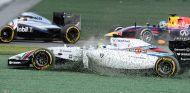 Momento del accidente de Felipe Massa - LaF1
