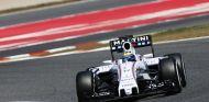 Felipe Massa con el Williams durante el primer día de test en Barcelona - LaF1