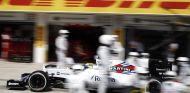Felipe Massa haciendo un pit stop en Hungría - LaF1