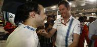 Massa y Smedley en el GP de Abu Dabi - LaF1