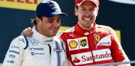 Felipe Massa y Sebastian Vettel en Monza - SoyMotor.com